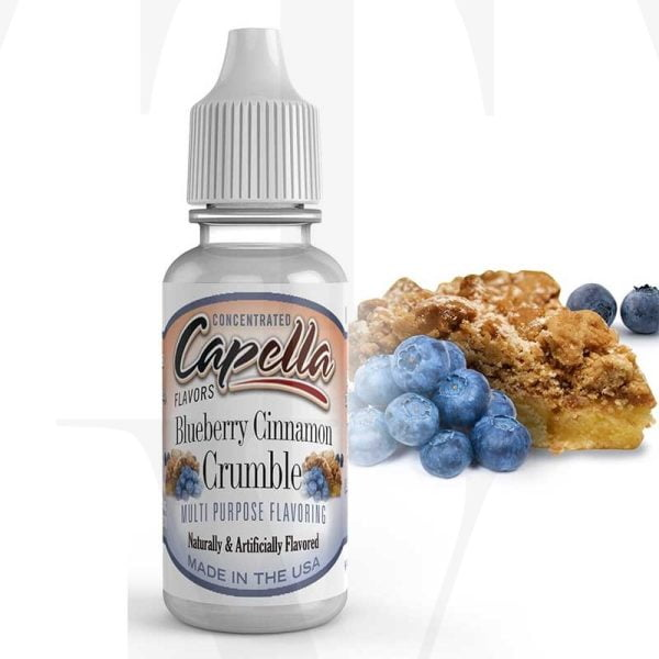 BLUEBERRY CINAMON CRUMBLE
