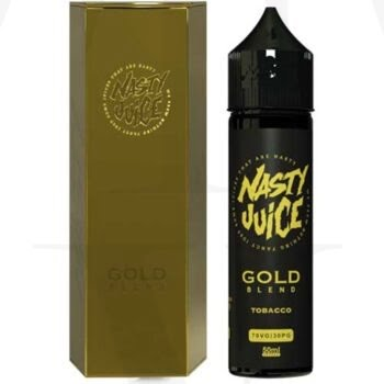 GOLD BLEND 50ML SHORTFILL 0MG