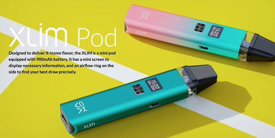 Oxva xlim pod vape kit designed to give you an extreme flavour